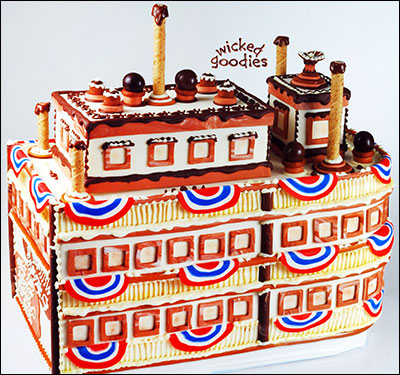Ferry Boat Cake by Wicked Goodies
