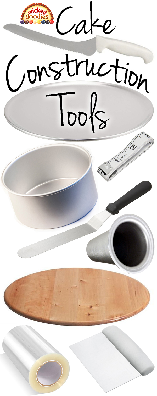 Useful Cake Construction Tools