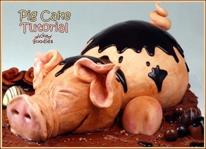 How to Make a Pig Cake by Wicked Goodies