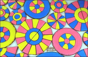 Stained Glass Windows for Gingerbread House Building by Wicked Goodies