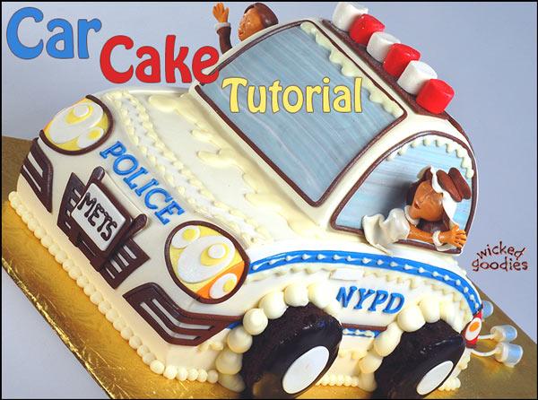 Car birthday cake recipe