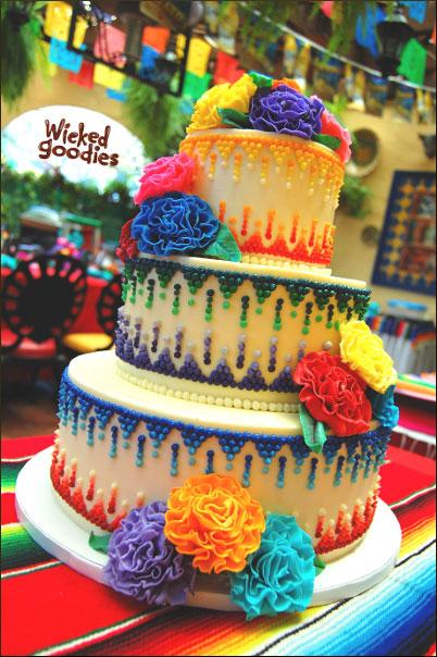 Wedding Cake Designs - Wicked Wedding Cakes