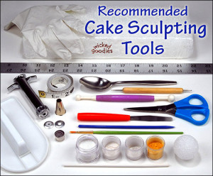 Cake Sculpting Tools by Wicked Goodies