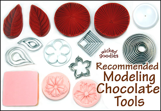 Cake Decorating With Modeling Chocolate Kristen Coniaris : Modeling Chocolate Recipe Cake Ideas and Designs