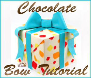 Chocolate Bow Tutorial by Wicked Goodies