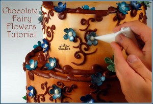 Chocolate Fairy Flowers Tutorial by Wicked Goodies