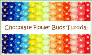 Chocolate Flower Buds Tutorial by Wicked Goodies