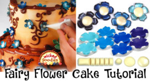 Fairy Flowers Cake