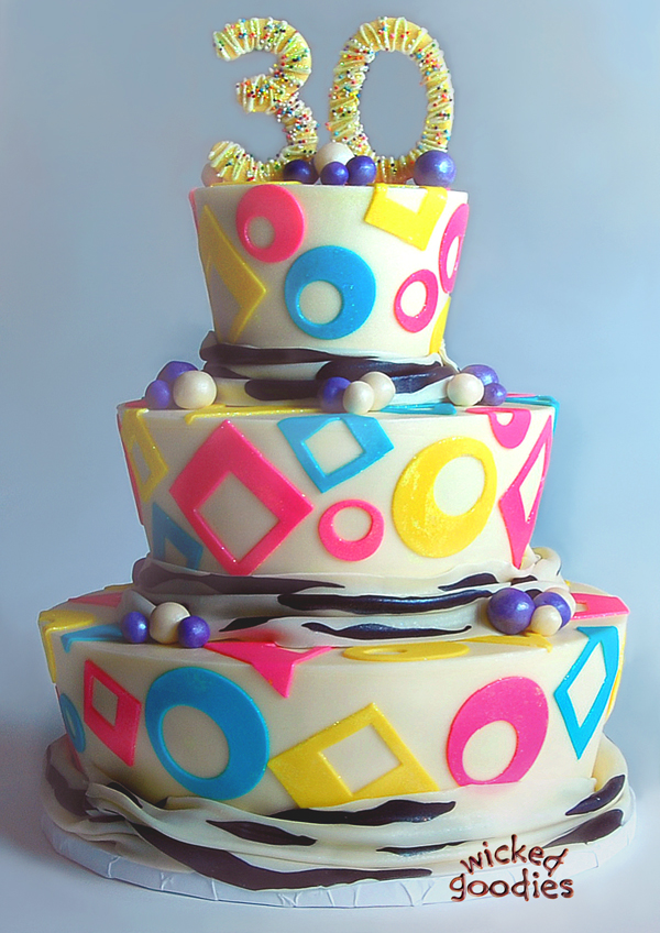 How to Taper Cake Tiers