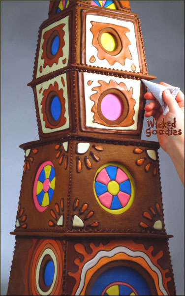 How to Make Stained Glass Windows with Royal Icing for Gingerbread Houses Wicked Goodies