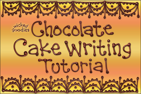 Cake Decorating Writing Techniques : Cake Writing Tips