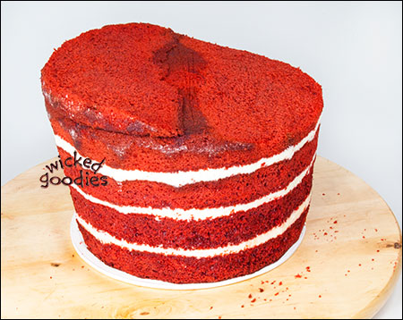 How to make tilted cake