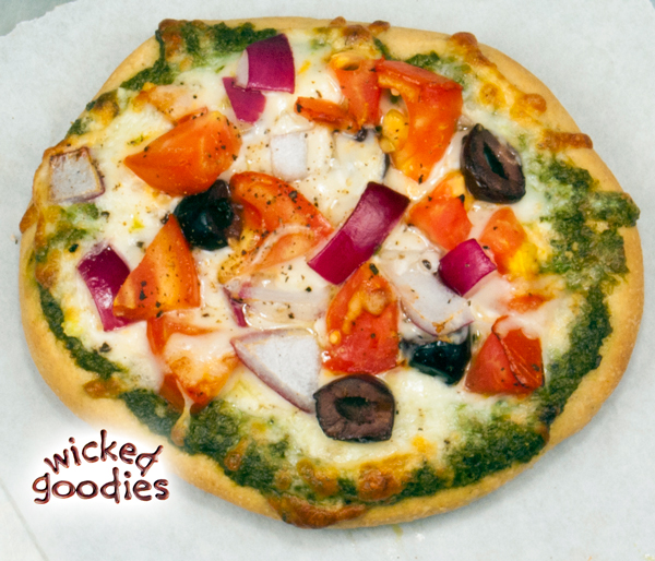 Pita Pizza Recipe and Baking Instructions