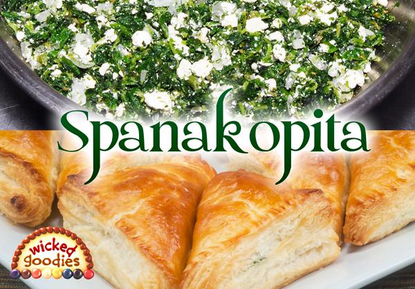 Spanakopita Spinach Feta Pie Recipe