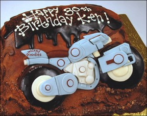 Motorcycle Cake by Wicked Goodies 2