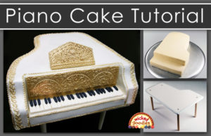 Piano Cake Tutorial