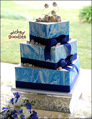 Cake Decorating with Modeling Chocolate by Wicked Goodies
