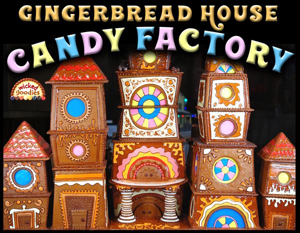 Wonka Gingerbread House