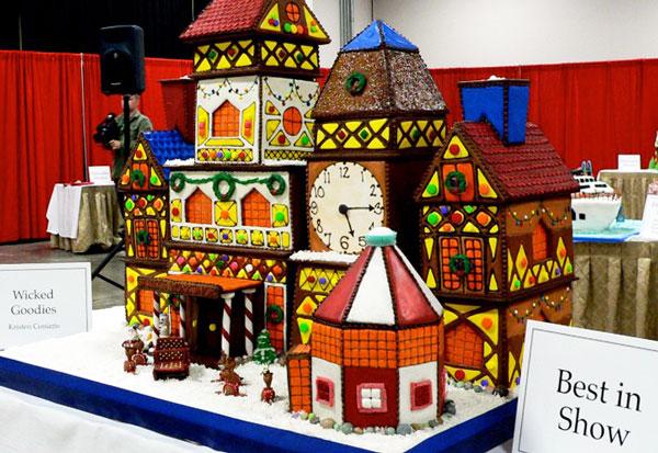 Santa's Workshop Gingerbread House
