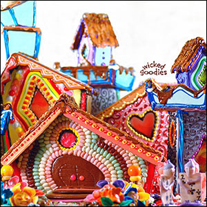 Great Cookie Houses · Gingerbread House Photo Gallery