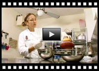 Video of Cake Decorating with Modeling Chocolate by Wicked Goodies