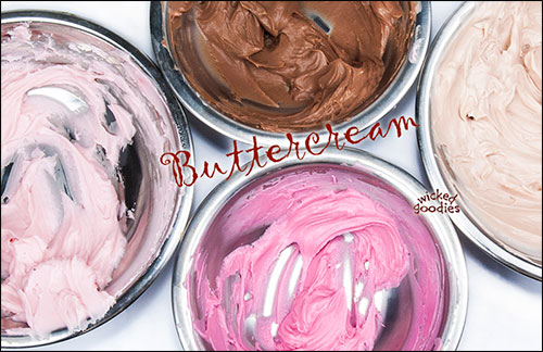 Buttercream Recipe by Wicked Goodies