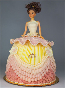 Doll Cake by Wicked Goodies