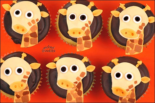How to Make Giraffe Cupcakes by Wicked Goodies