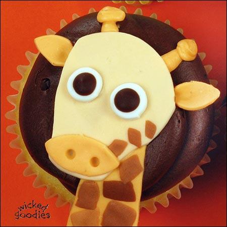 How to Make Giraffe Cupcakes