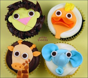 How to Make Zoo Animal Cupcakes by Wicked Goodies