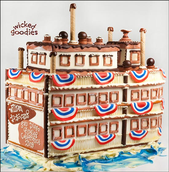 How to Make a Boat Cake by Wicked Goodies