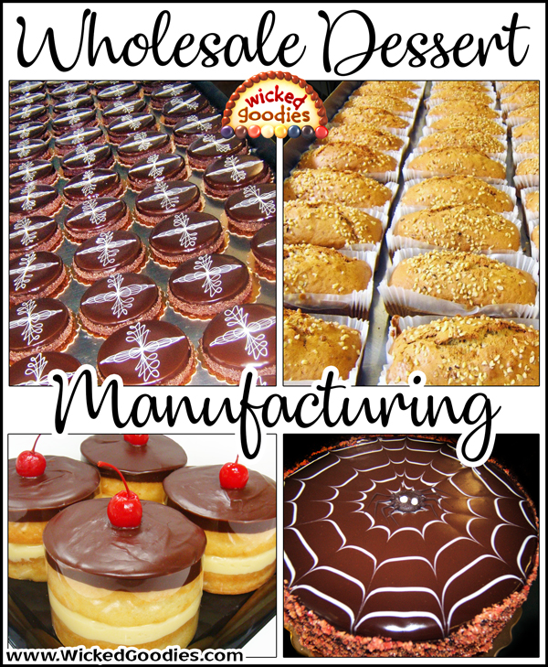 Wholesale Dessert Manufacturing
