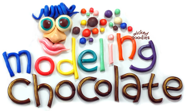 How to Make Modeling Chocolate by Wicked Goodies