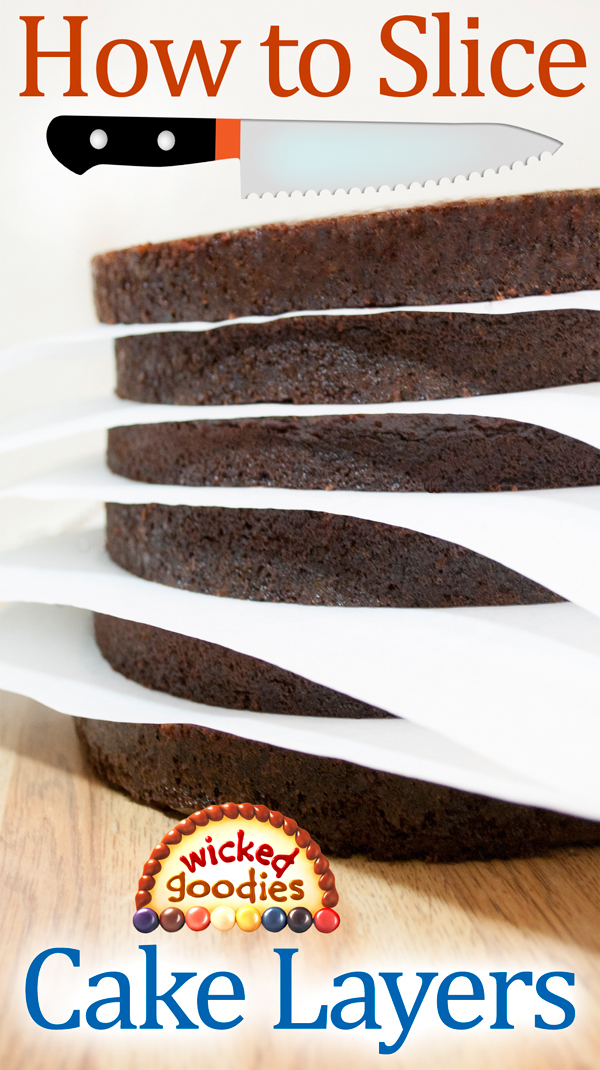 How to Slice Cake Layers
