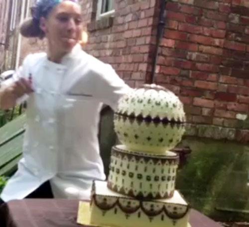 Punching Cake