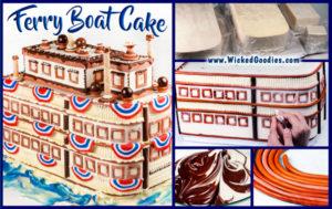 3D Boat Cake Tutorial