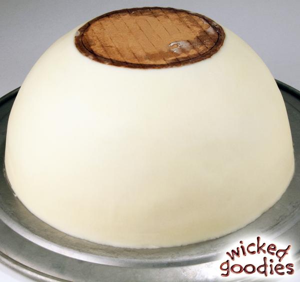 Half Sphere Cake Tutorial