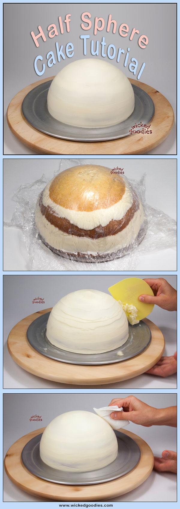 How To Make A Half Sphere Cake Wicked Goodies