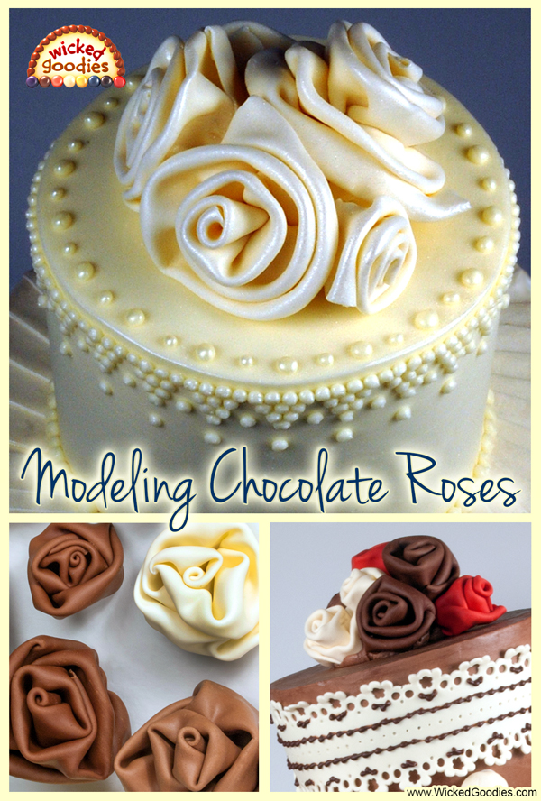 Modeling Chocolate Roses