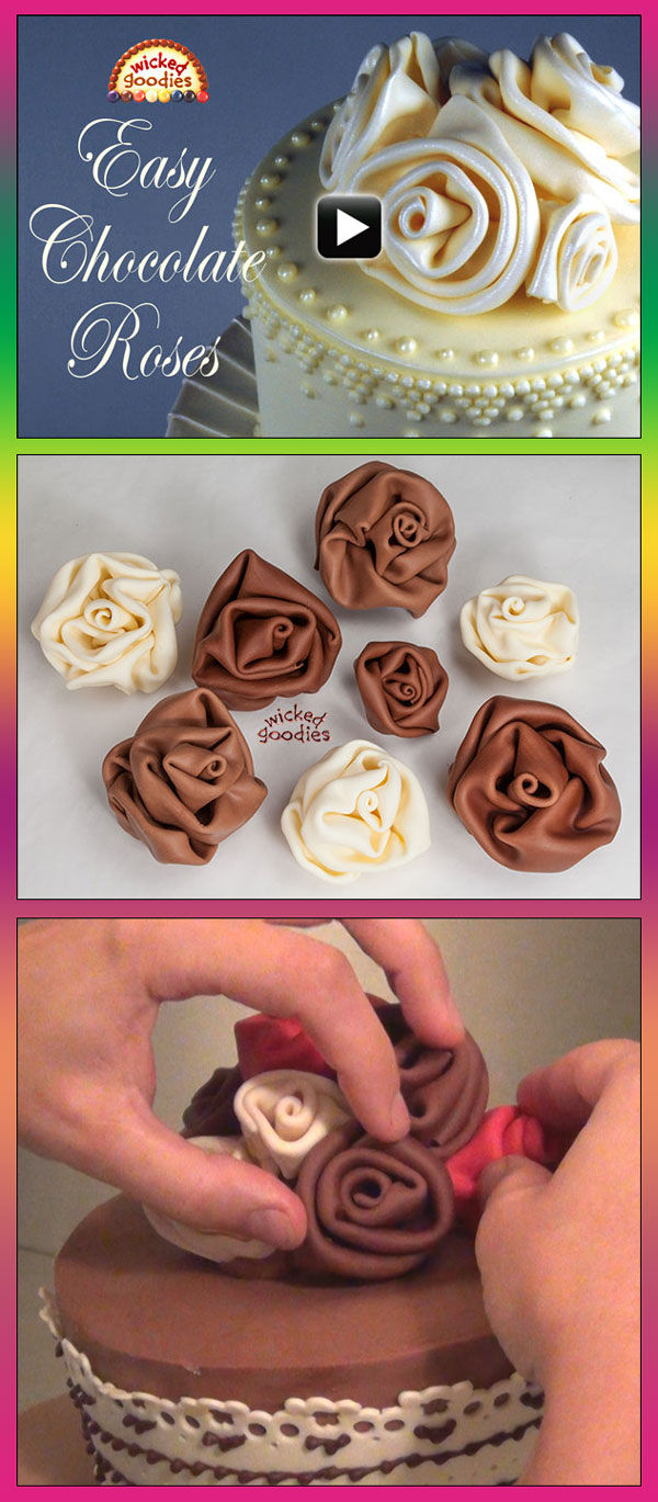 Modeling Chocolate Roses How To