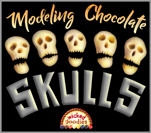 Modeling Chocolate Skull Decorations