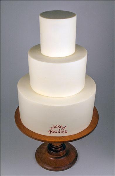 Round Cylinder Cake Frosting 1