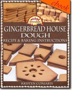 Gingerbread House Dough Recipe & Baking Instructions by Wicked Goodies