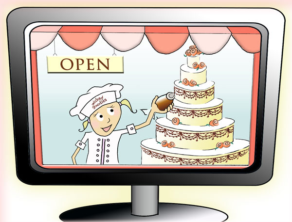Internet Marketing Strategies for Cake Bakery Businesses by Wicked Goodies