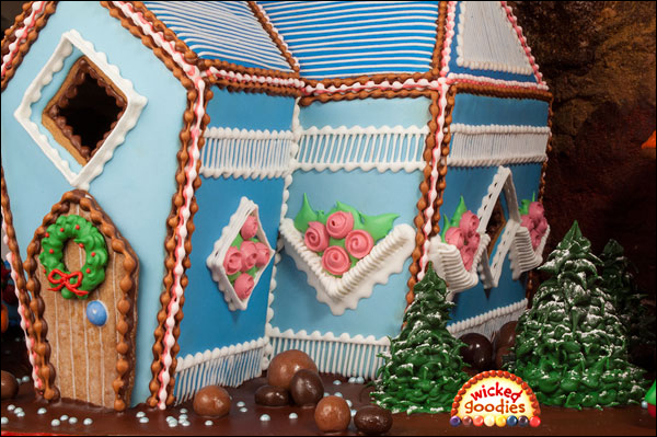 Fancy Over Piped Gingerbread House
