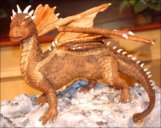 Draco Dragon in Gingerbread