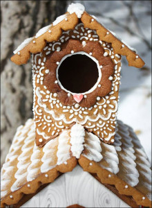 Gingerbread Cookie Birdhouse by Love Blossoms Cakery