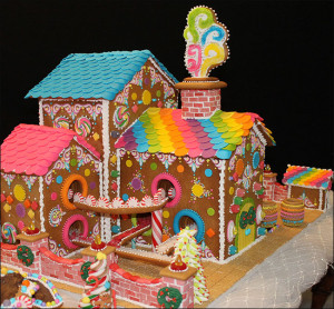Candy Factory Gingerbread House