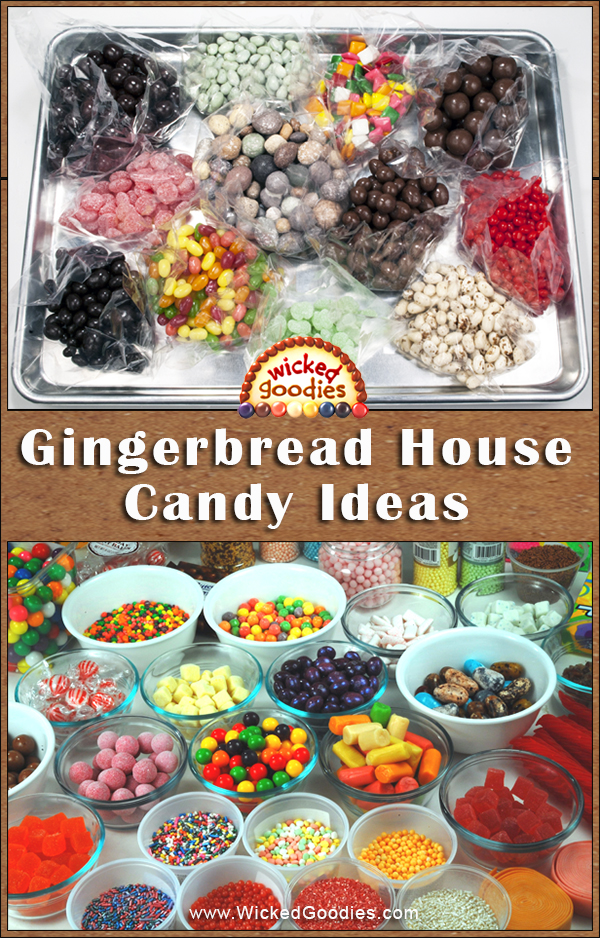 Gingerbread candy house ideas