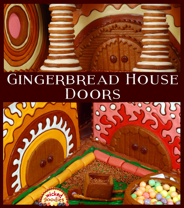 Gingerbread House Doors